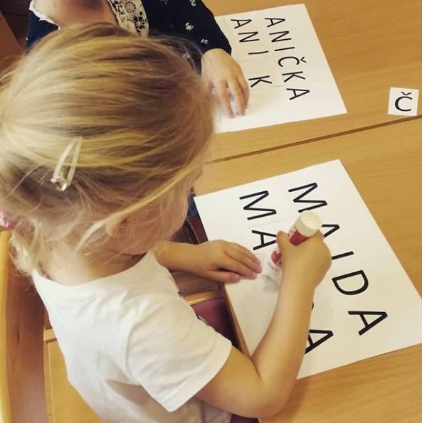 děti se učí